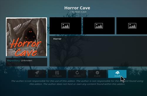 How to Install Horror Cave Kodi Add-on with Screenshots step 18