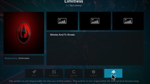 How to Install Limitless Kodi Add-on with Screenshots step 18