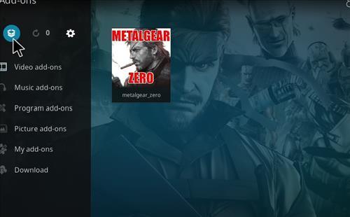 How to Install Metalgear_Zero Kodi Add-on with Screenshots step 9