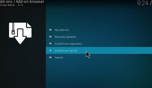 How to Install Nova 4K Kodi Build with Screenshots step 10
