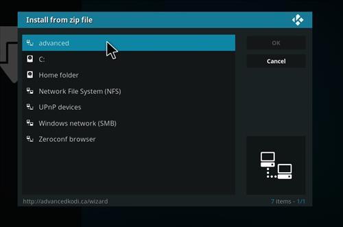 How to Install Nova 4K Kodi Build with Screenshots step 11