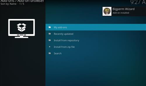 How to Install Nova 4K Kodi Build with Screenshots step 13