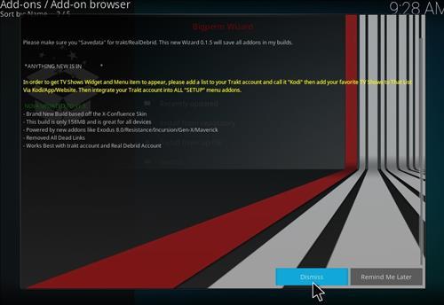 How to Install Nova 4K Kodi Build with Screenshots step 14
