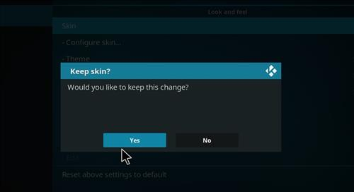 How to change the Skin back to Default Estuary madflix 2 step 5