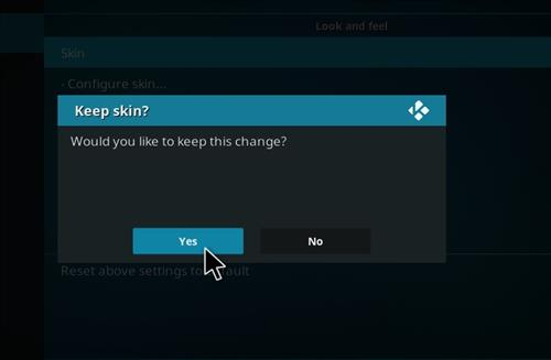 How to change the Skin back to Default Estuary mancs step 5