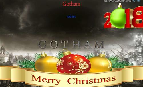 Top Best Working KODI Build List December 2018 gotham xmas