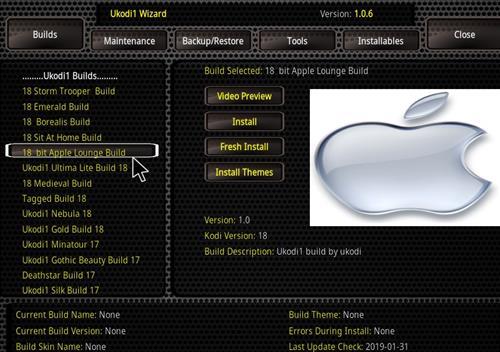How to Install Bit Apple Lounge Kodi 18 Build Leia step 24