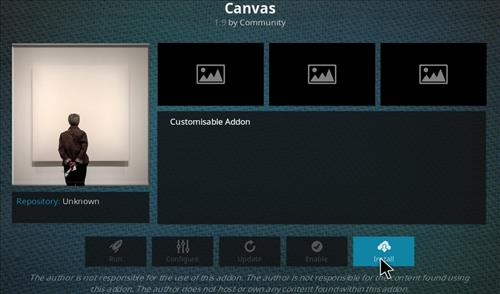 How to Install Canvas Kodi Add-on with Screenshots step 18