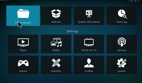 How to Install Deckchair Add-on for Kodi 18 Leia step 2