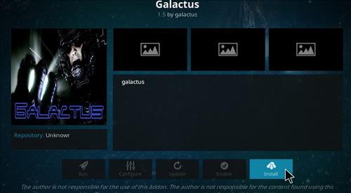 How to Install Galactus Kodi Add-on with Screenshots step 18