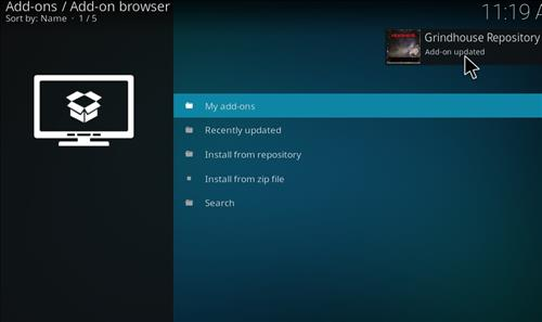 How to Install Gamer Kodi Build with Screenshots step 13