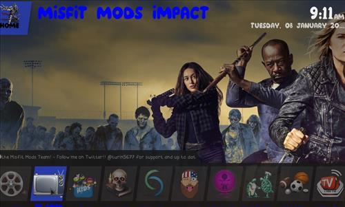 How to Install Impact Kodi Build with Screenshots pic 2