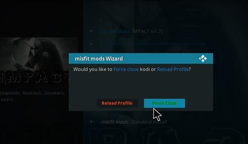How to Install Impact Kodi Build with Screenshots step 21