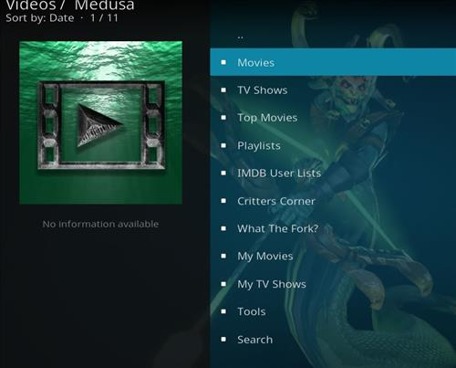 How to Install Medusa Kodi Add-on with Screenshots pic 2