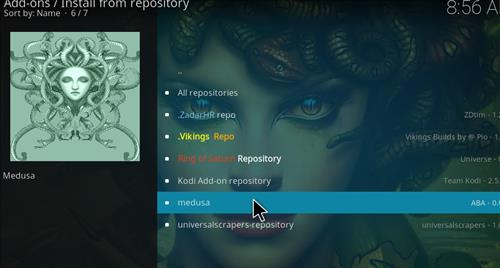 How to Install Medusa Kodi Add-on with Screenshots step 15