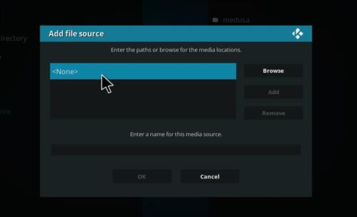 How to Install Medusa Kodi Add-on with Screenshots step 4