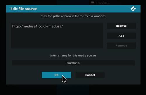 How to Install Medusa Kodi Add-on with Screenshots step 7