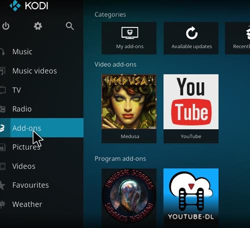 How to Install Medusa Kodi Add-on with Screenshots step 8