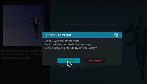 How to Install Mondo Kodi Build with Screenshots step 19