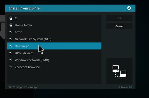 How to Install Peace Kodi Add-on with Screenshots step 11