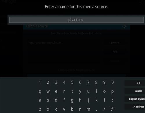 How to Install Phantom Kodi Add-on with Screenshots step 6