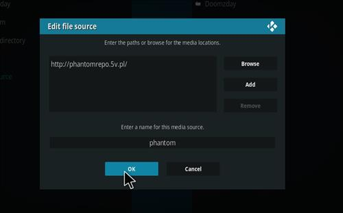 How to Install Phantom Kodi Add-on with Screenshots step 7