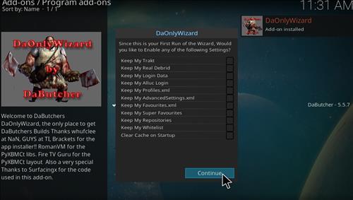 How to Install Robo Red Kodi 18 Leia Build step 20