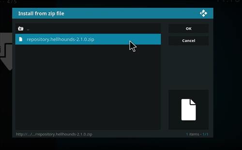 How to Install Shadows Kodi Build with Screenshots step 12