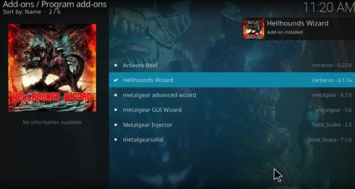 How to Install Shadows Kodi Build with Screenshots step 19