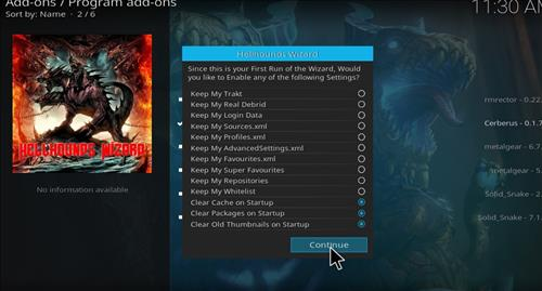 How to Install Shadows Kodi Build with Screenshots step 20