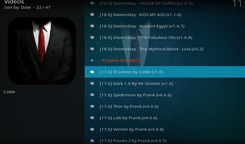 How to Install Shadows Kodi Build with Screenshots step 22