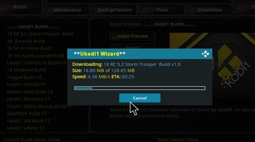 How to Install Storm Trooper Kodi 18 Build Leia step 27