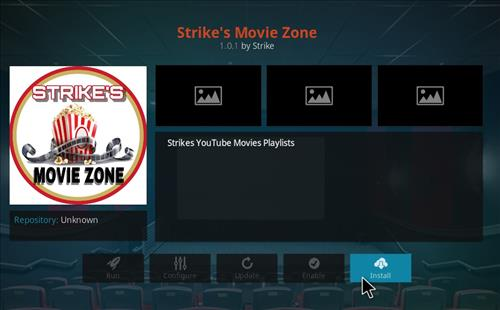 How to Install Strikes Movie Zone Kodi Add-on with Screenshots step 18