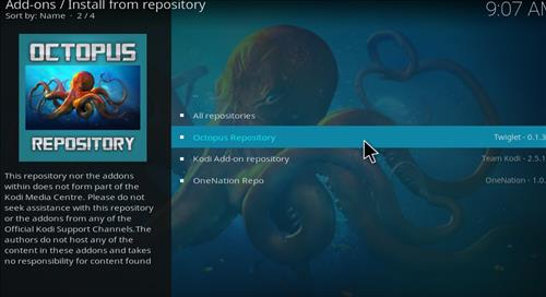 How to Install Taz Kodi Add-on with Screenshots step 15