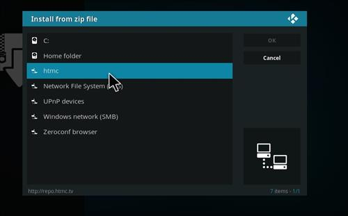 How to Install htmcTV Kodi Add-on with Screenshots step 11
