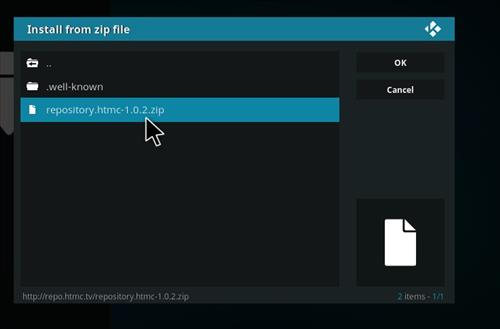 How to Install htmcTV Kodi Add-on with Screenshots step 12