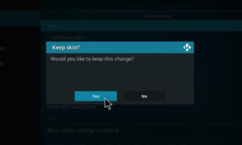 How to change the Skin back to Default Estuary cosmic evo step 5