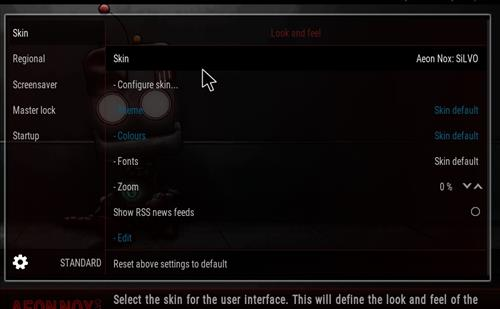 How to change the Skin back to Default Estuary robo red step 3