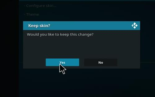 How to change the Skin back to Default Estuary robo red step 5