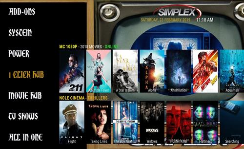 Best Working Kodi 18 Leia Builds simplex