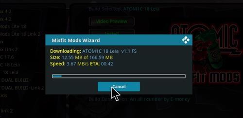 How to Install Atomic 18 Kodi Build Leia step 20