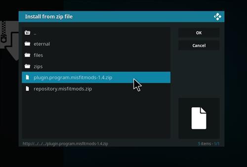 How to Install Hardnox 4.2 Kodi 18 Leia Build step 11