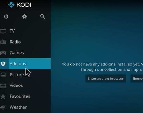 How to Install Hardnox 4.2 Kodi 18 Leia Build step 8