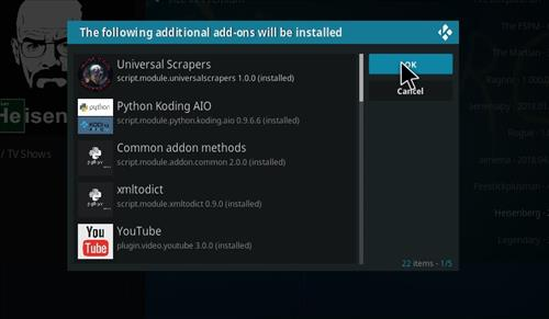 How to Install Heisenberg Kodi 18 Leia Add-on step 20