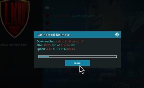 How to Install Latino Kodi Build 18 Leia step 20