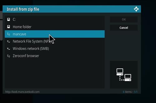 How to Install MC 1080P Kodi18 Leia Add-on step 11