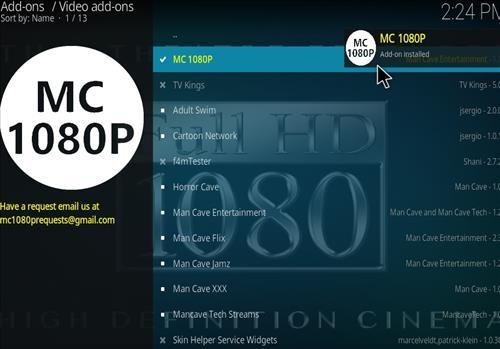 How to Install MC 1080P Kodi18 Leia Add-on step 21