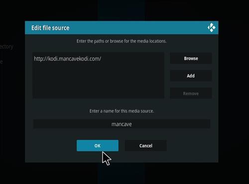 How to Install MC 1080P Kodi18 Leia Add-on step 7