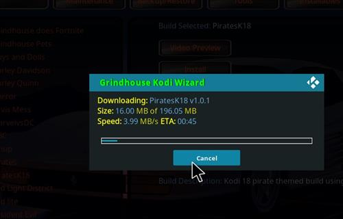 How to Install PiratesK18 Kodi Leia Build step 26