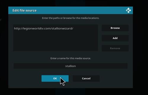 How to Install Stallion IPTV Add-on Kodi 18 Leia step 7